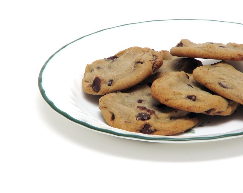 Cookies Free Stock Photo Chocolate Chip Cookies On A Plate