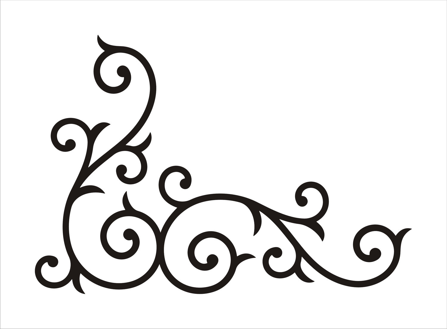 Corner Scroll Design Clipart Free Clip Art Images