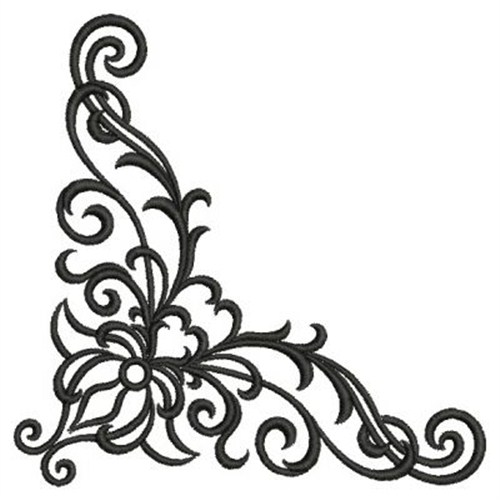 Corner Scroll Design Free Clipart Images