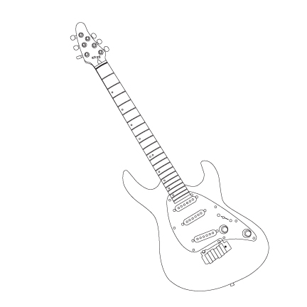 Cort Guitar Outlinedartein On Deviantart