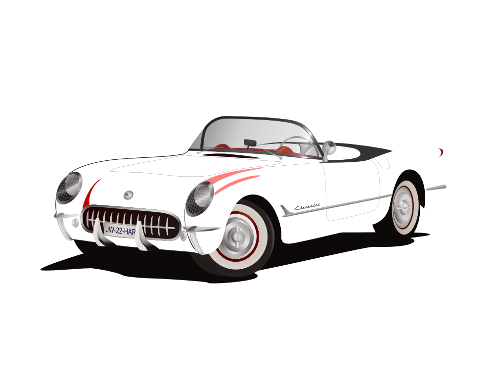best corvette clipart 8745 clipartioncom