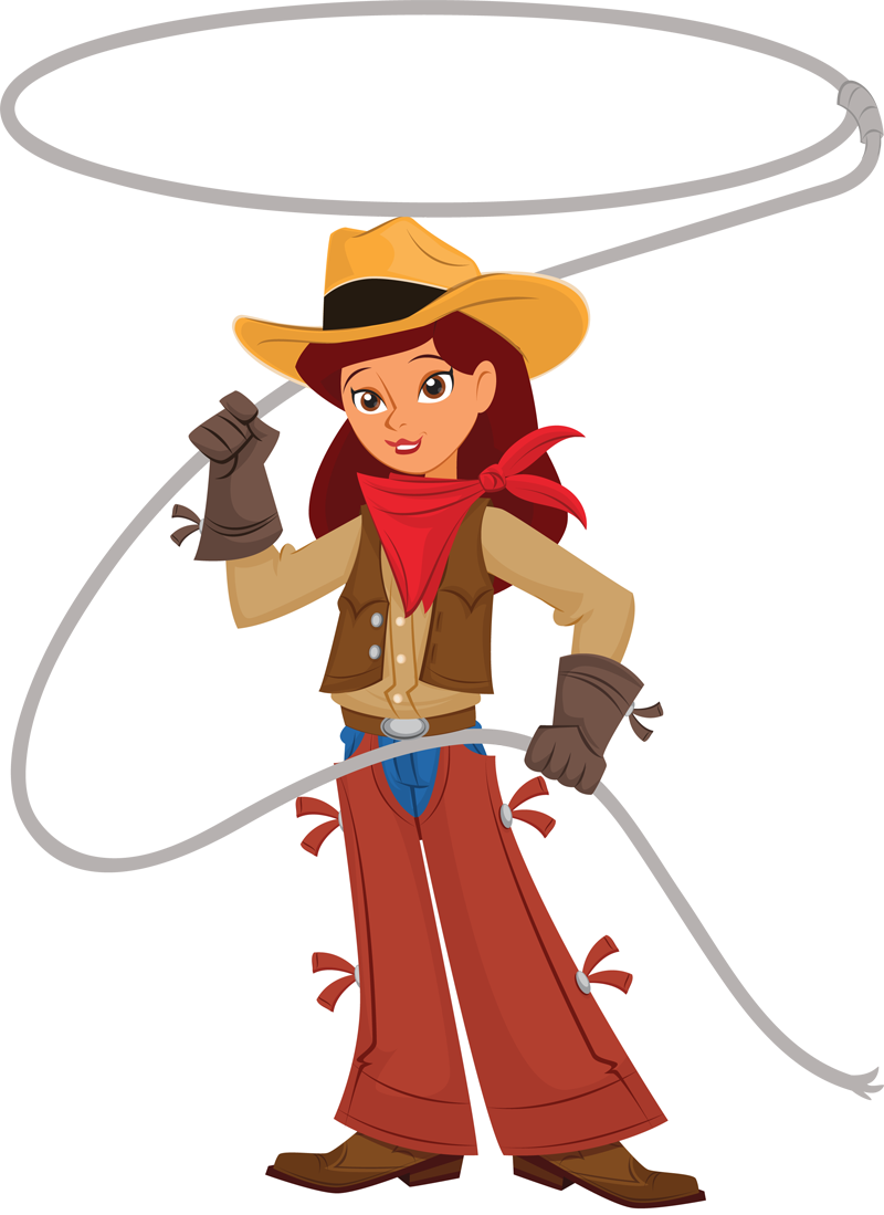 Cowgirl Border Clipart Free Clip Art Images
