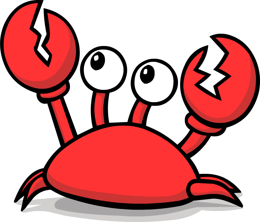 Best Crab Clipart #9658 - Clipartion.com