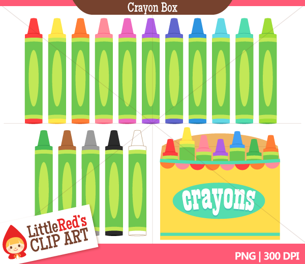Crayon Box Clip Art Little Red\'s Treehouse