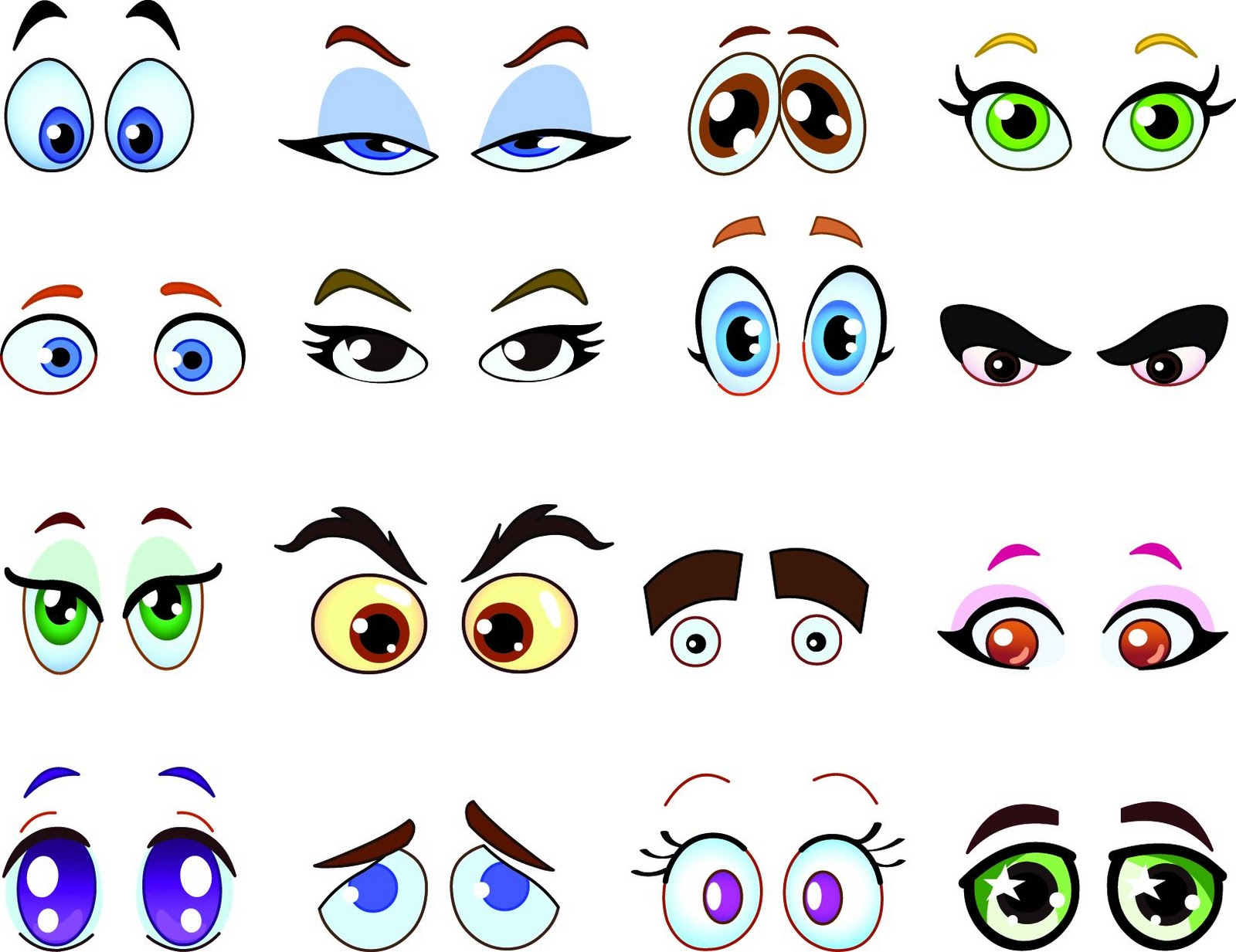 Csrtoon Eyes