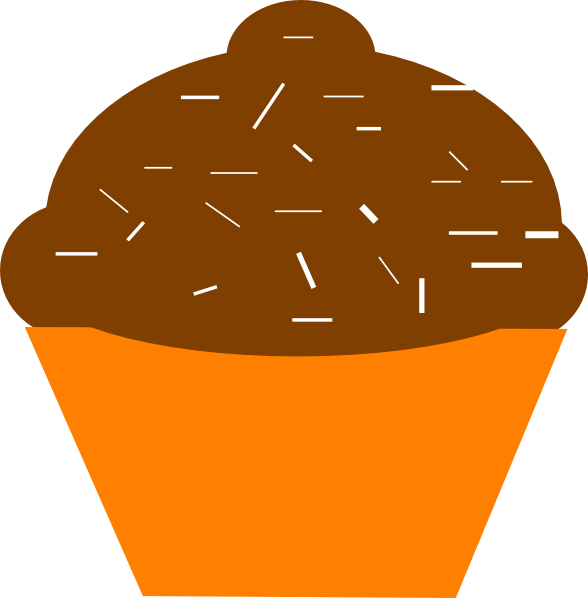 Cupcake Cartoon Clip Art