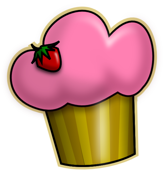 Cupcake Cartoon Image