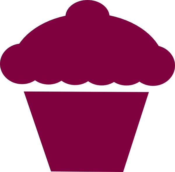 Cupcake Outline Clipart Free Clip Art Images