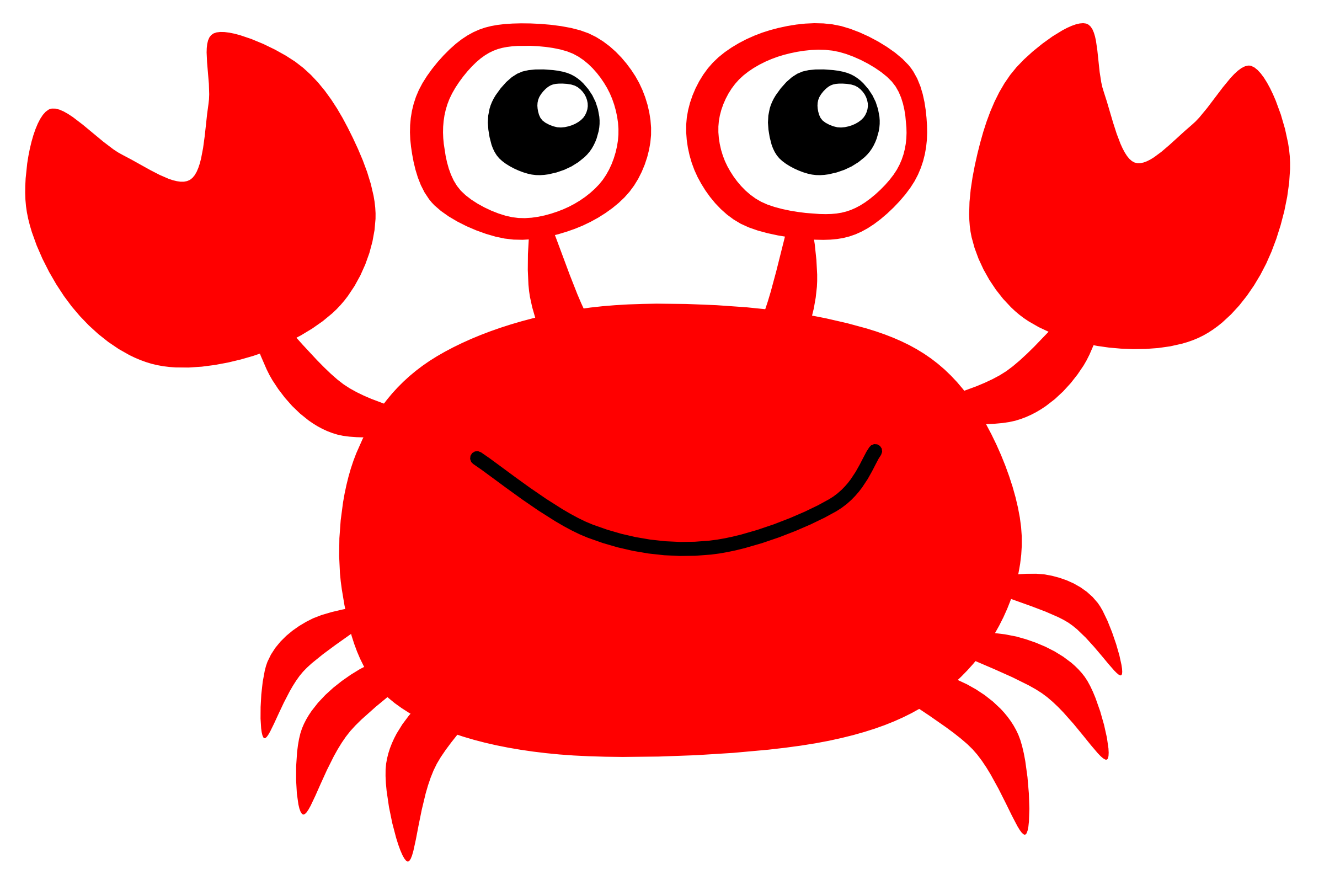 Best Crab Clipart #9636 - Clipartion.com