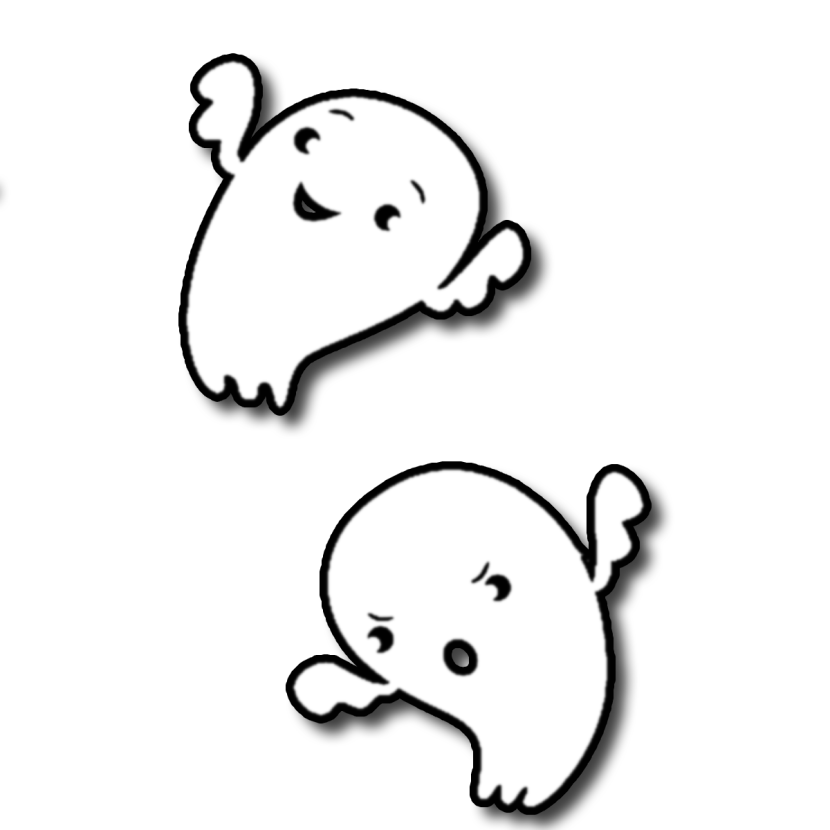 Cute Ghost Clipart