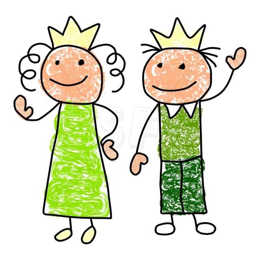Cute King Queen Clipart Free Clip Art Images