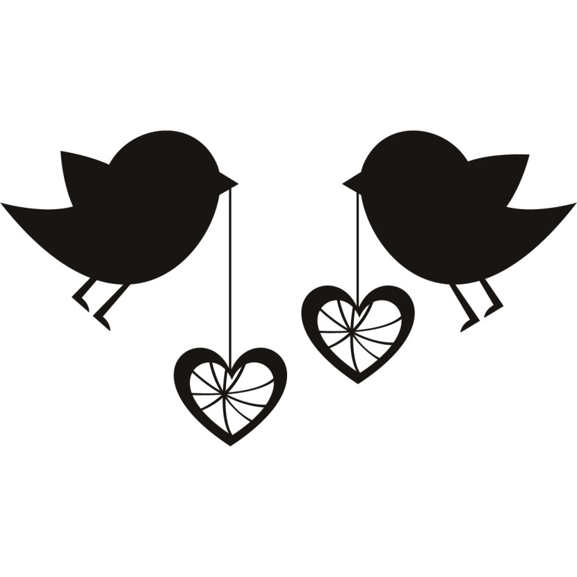 Cute Love Bird Clipart Black And White Wide Wallpaper Opowae Info