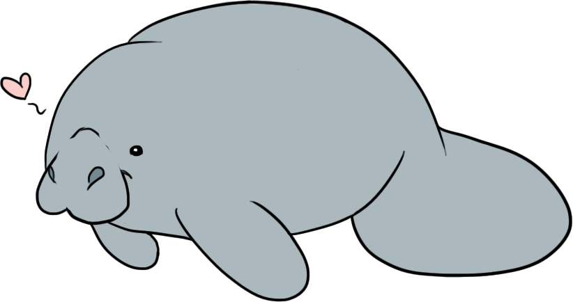 Manatee Clip Art - Clipartion.com