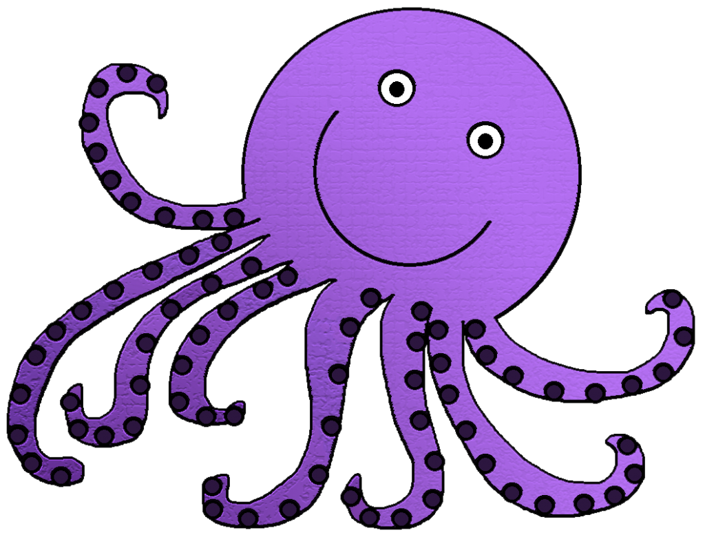 Cute Octopus Clipart Free Clipart Images