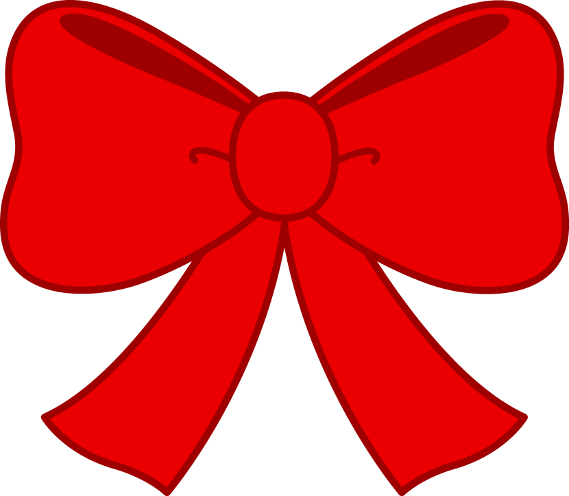 Cute Red Bow Clipart Free Clip Art