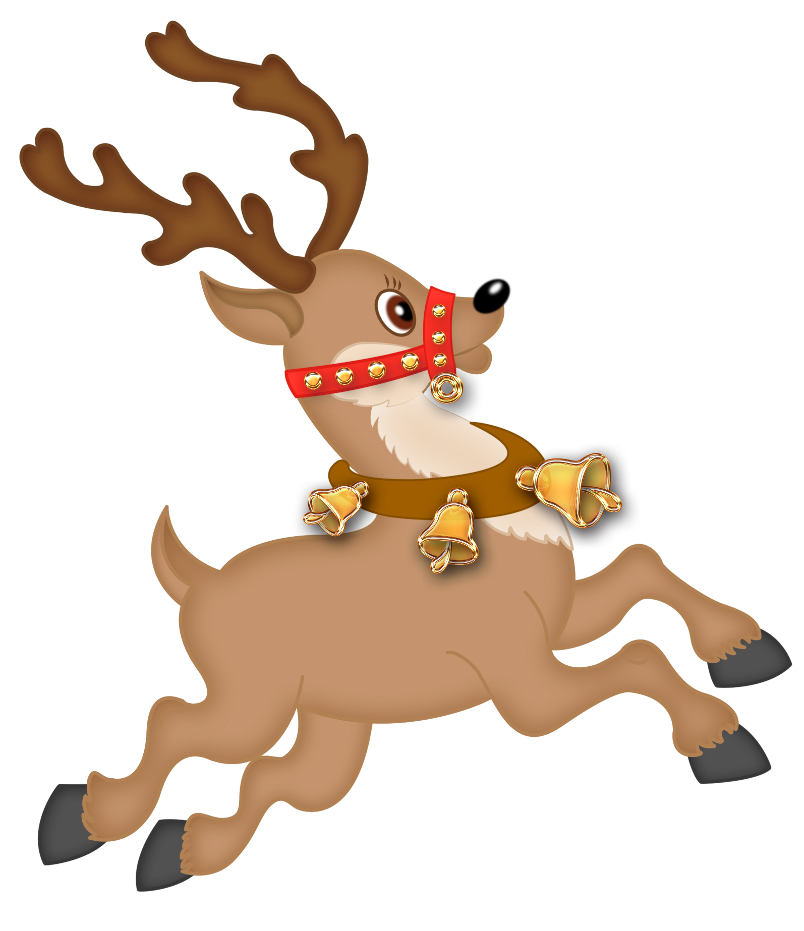 Cute Reindeer Png Clipart Png