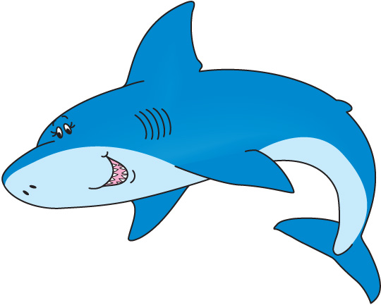 Cute Shark Clipart
