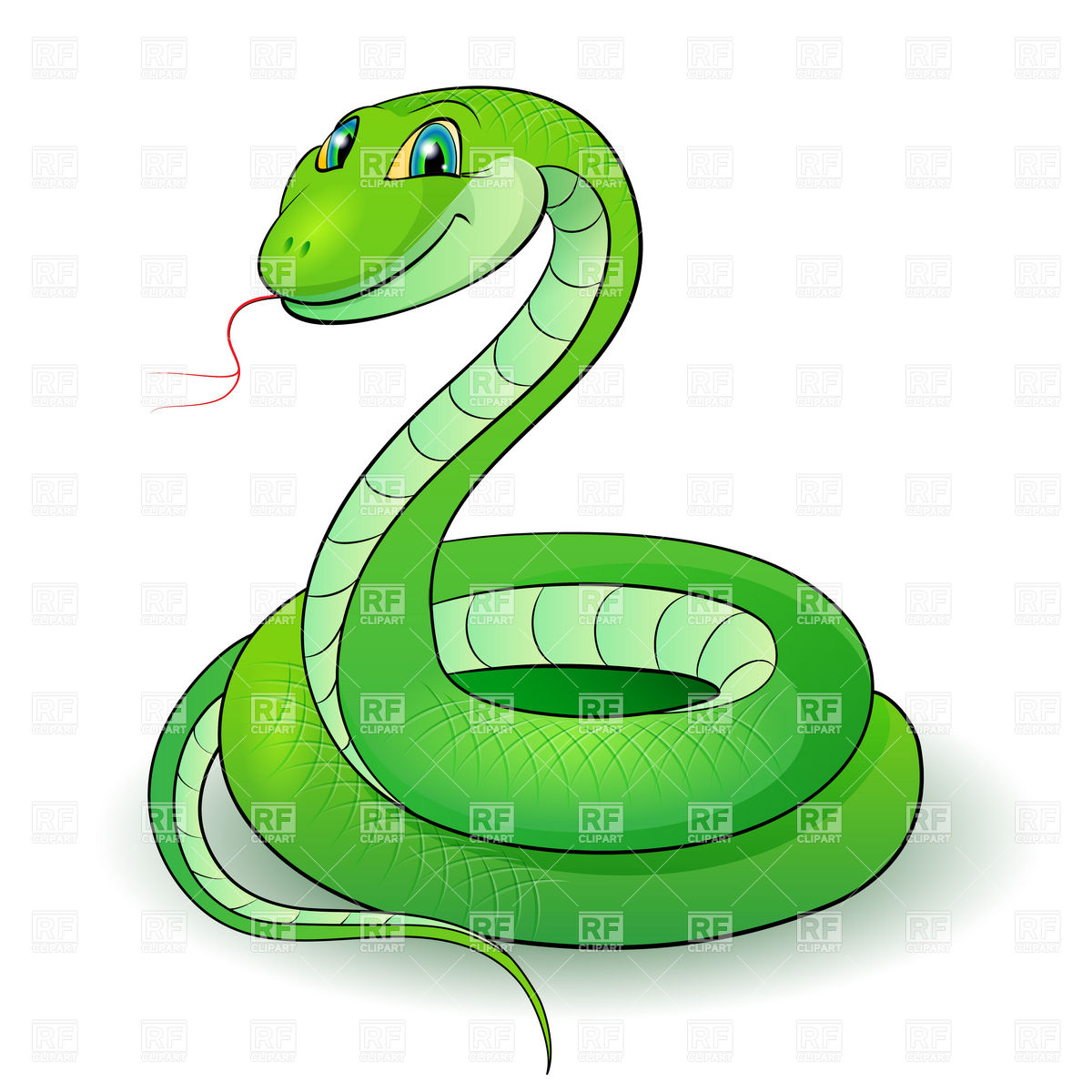 Cute Snake Clipart Black And White Free Clipart