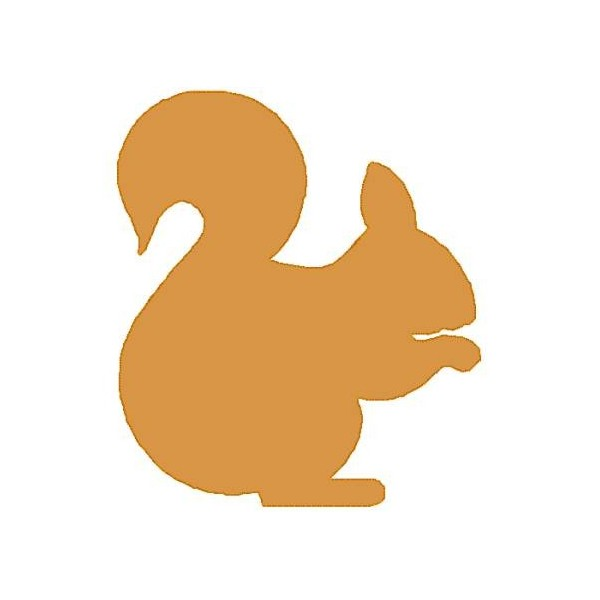 Cute Squirrel Silhouette Free Clipart Images