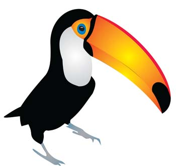 Cute Toucan Clipart
