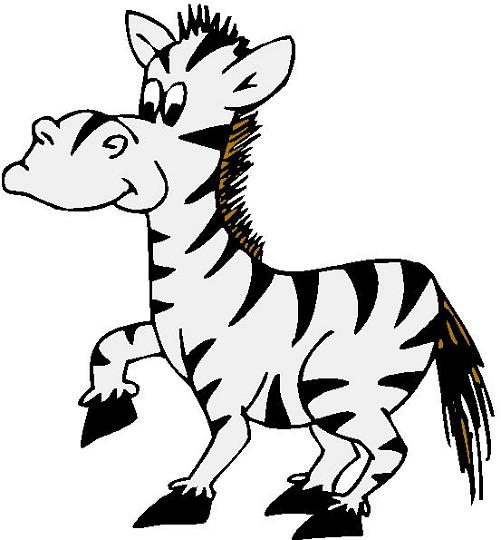 Cute Zebra Clipart Free Clipart Images