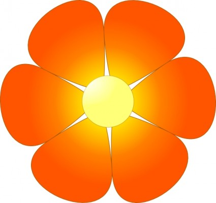 Daisy Flower Clip Art Free Vector