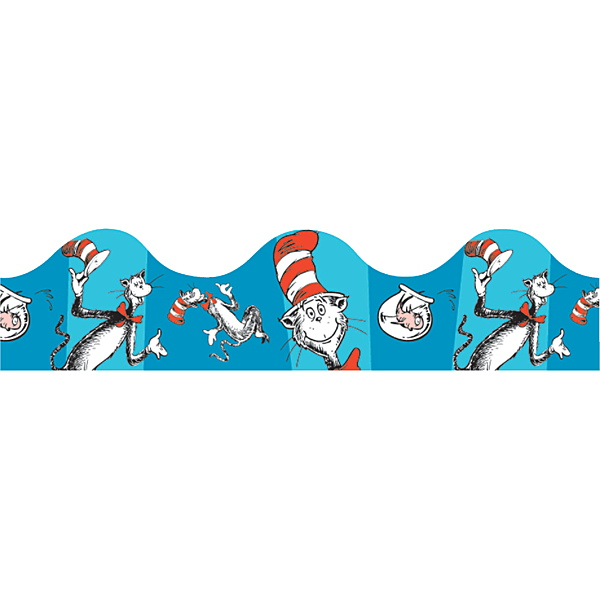 Demco Com Dr Seuss Cat In The Hat Border
