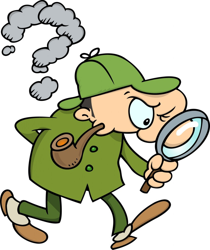 Friendly Find For Your Job Search: Best Detective Clipart #7475