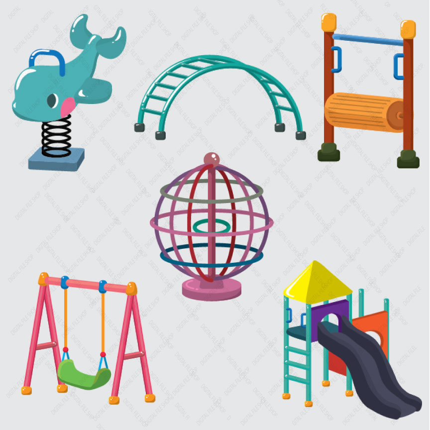 Digital Download Discoveries For Playground Clipart From Easypeach Com
