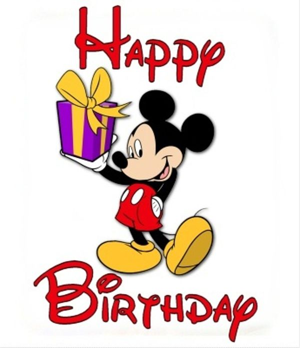Disney Birthday Clip Art Free Clipart Images