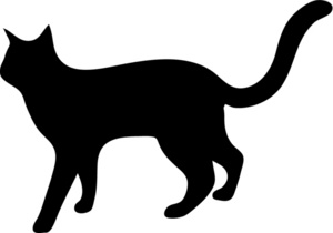 Dog And Cat Silhouette Clip Art Free Free