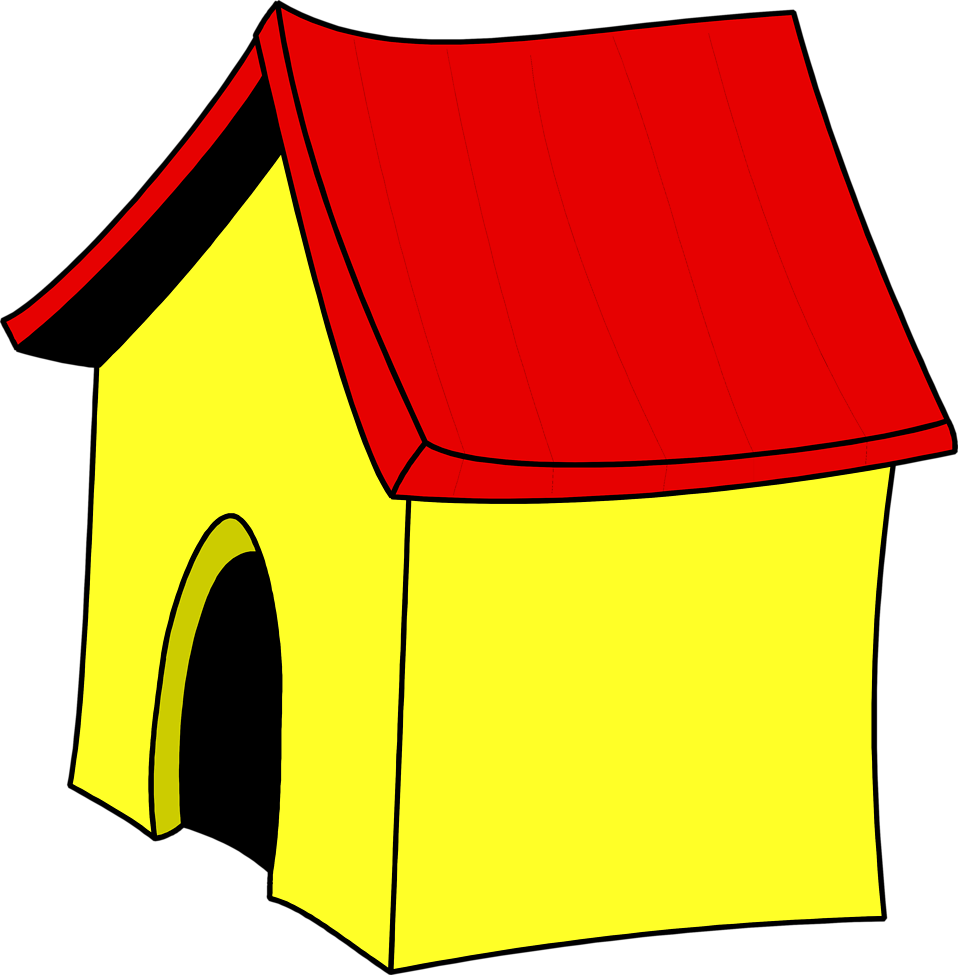 Dog House Free Clipart