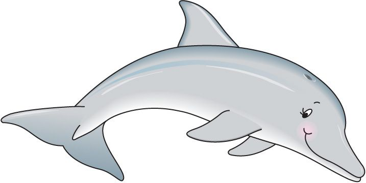 Dolphin Clip Art For Party Cute Clipart