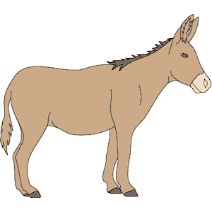 free donkey clipart to print