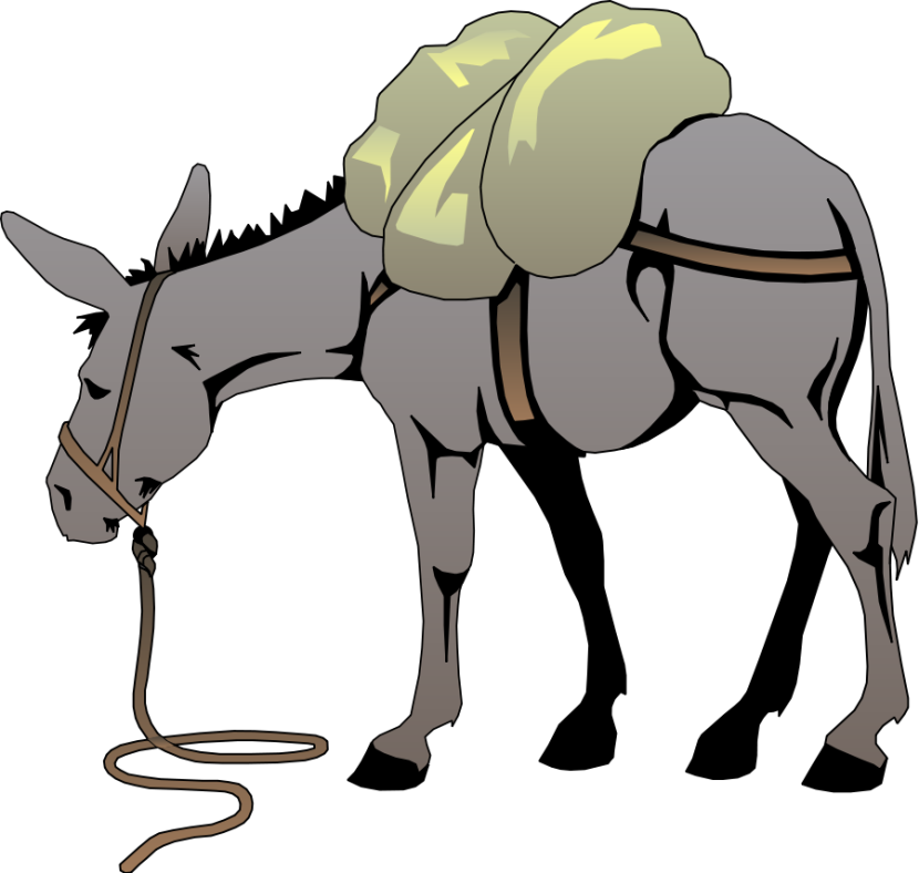 Donkey Clip Art Free Clipart Images