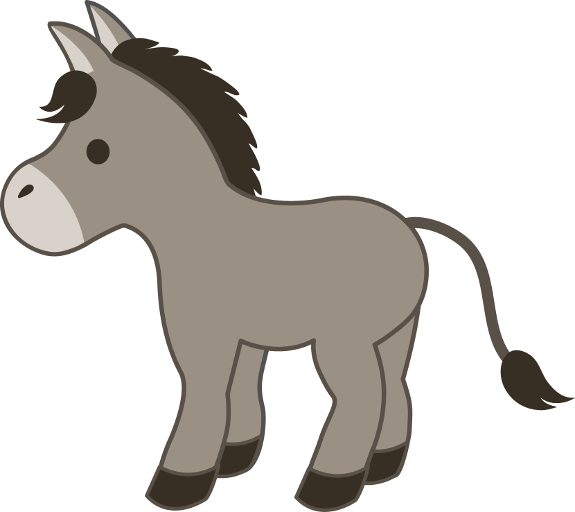 donkey clipart for personal choose your favorite of donkey clipart and ...