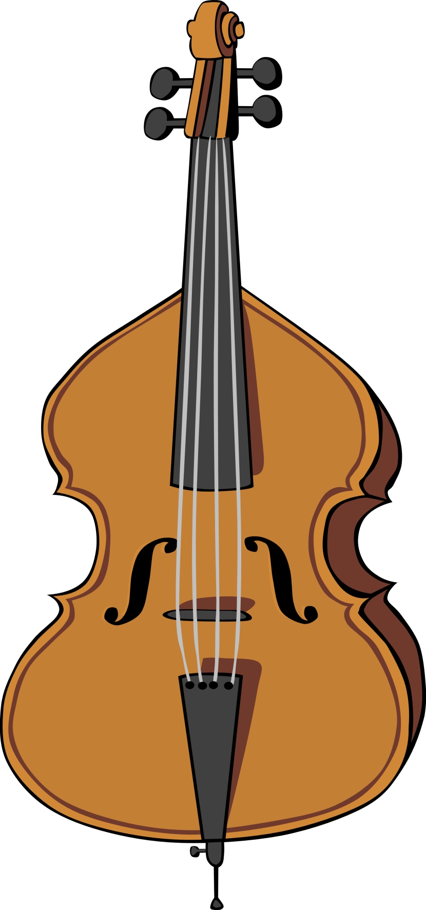 Double Bass Clipart Free Clip Art Images