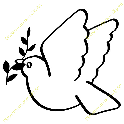 Dove Bird Outline Funny Pics