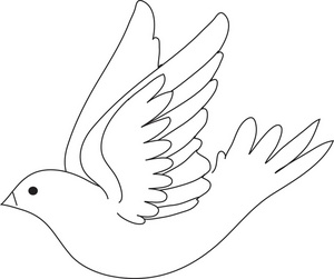 Dove Clipart Image Royalty Free Clip Art Illustration Of A