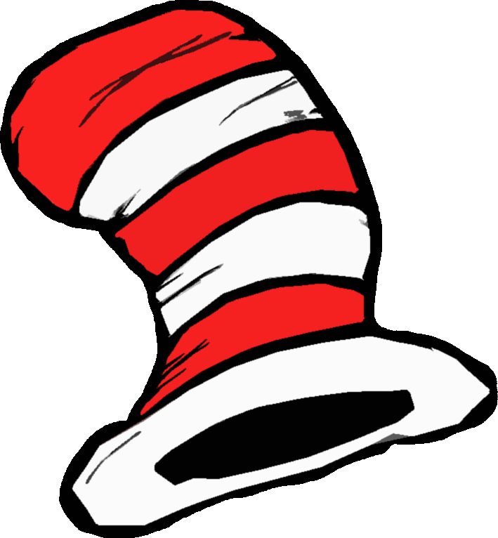 Dr Seuss Clip Art Black And White Free Clipart