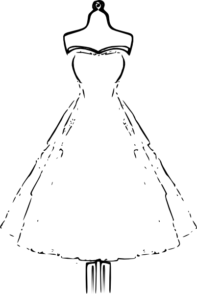 Dress Clip Art At Vector Clip Art Online Royalty Free