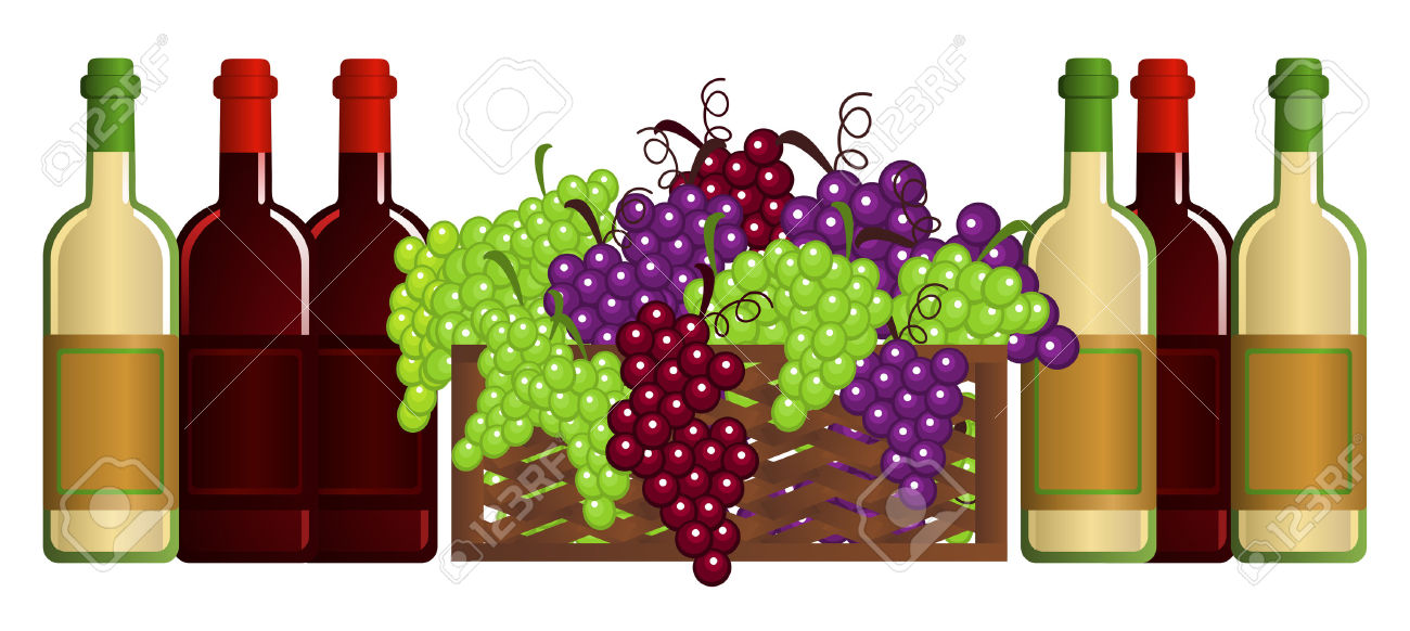 Dry Wine Stock Vector Illustration And Royalty Free Dry Wine Clipart