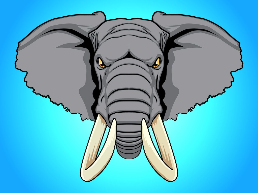Elephant Head Logo Clipart Free Clip Art Images