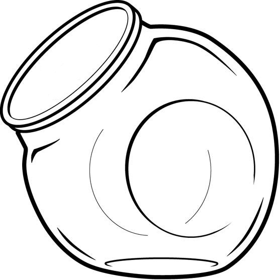 Empty Cookie Jar Clipart Free Clipart Images
