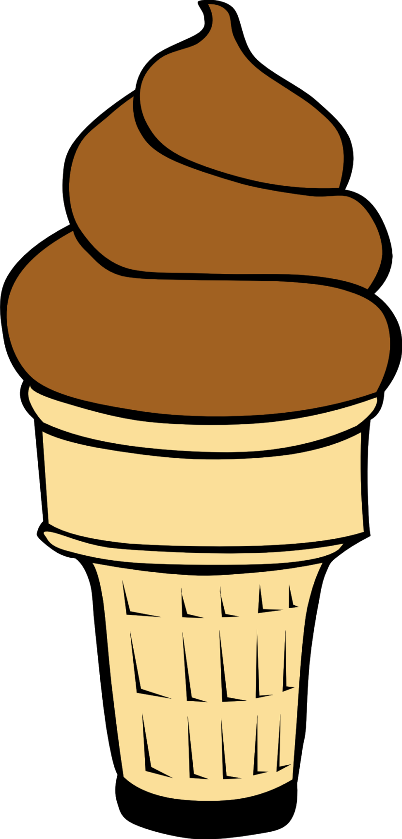 Empty Ice Cream Cone Clipart Free Clipart Images