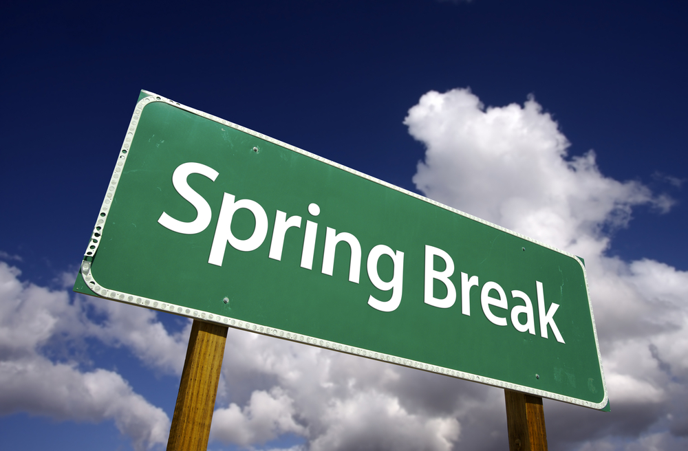 Experience College During Your Spring Break College U Got It
