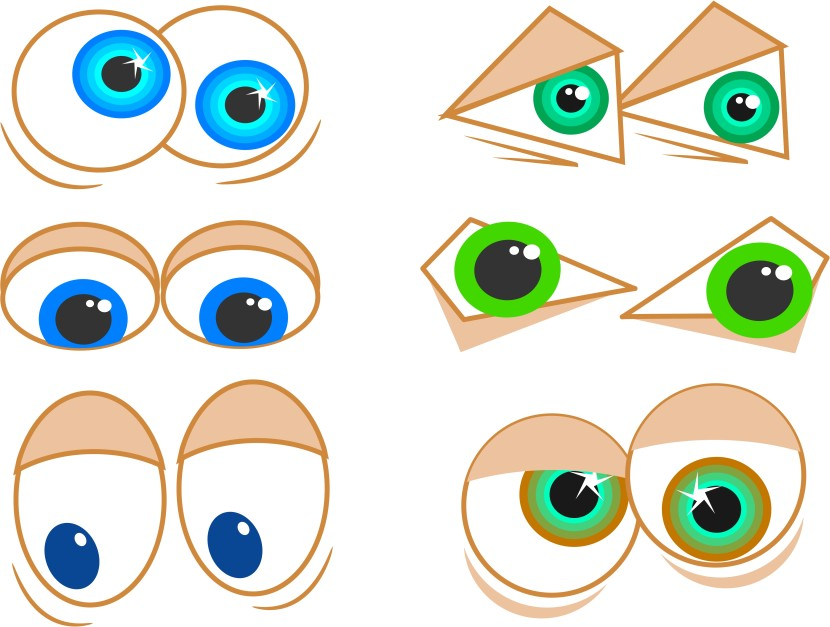 Eyes Googly Free Vector Clipart Free Clip Art Images