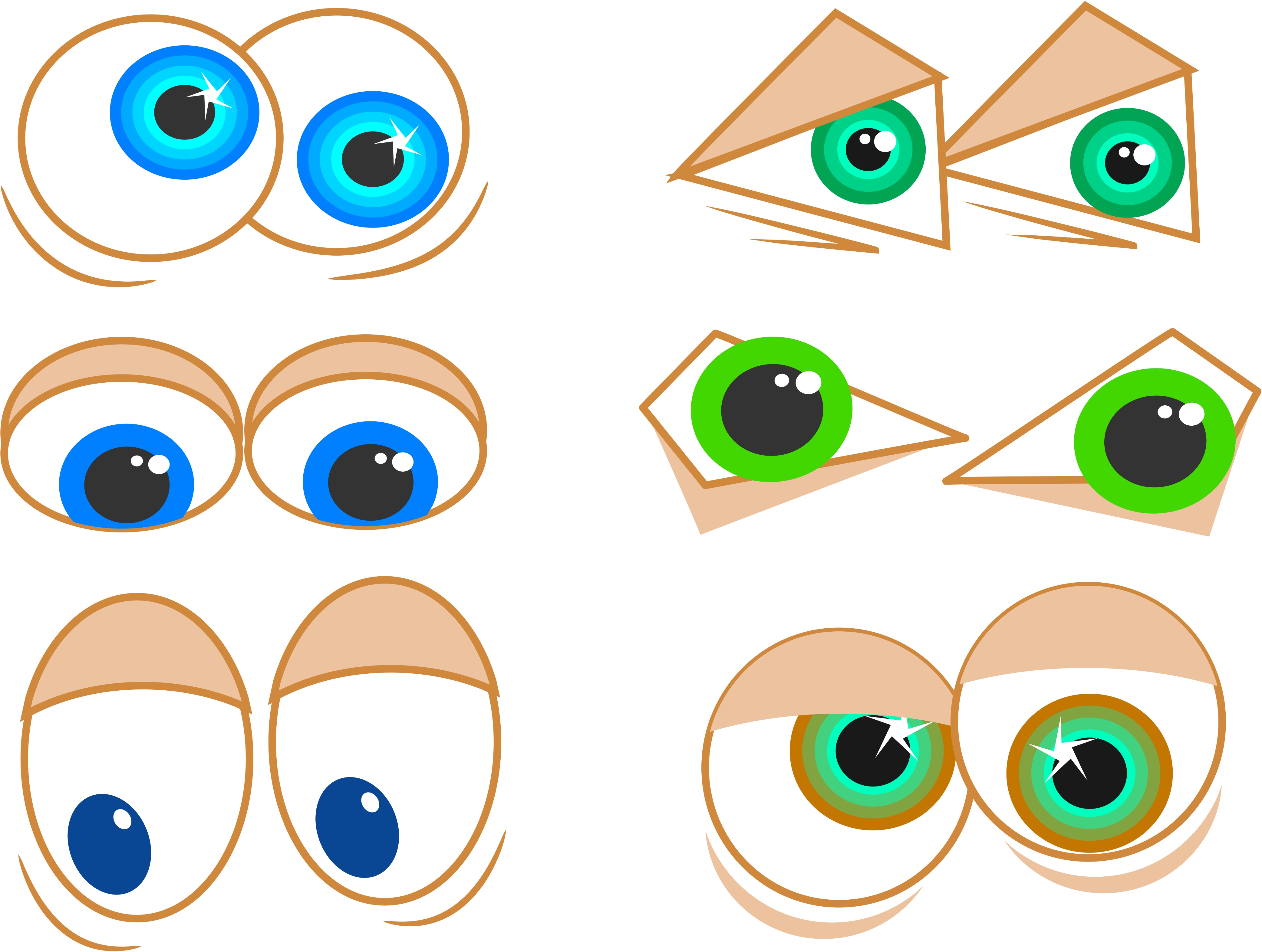 googly eyes clipart hd - photo #42