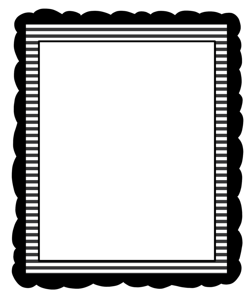 Fall Border Clipart Black And White Free Clipart