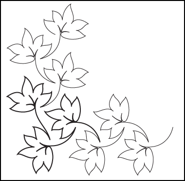 Fall Leaves Clip Art Black And White - Clipartion.com